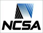 NCSA vertical logo